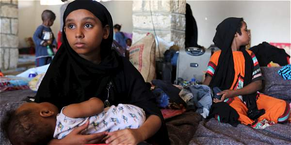 En el último mes al menos 140 niños fueron reclutados por grupos armados en ese país.