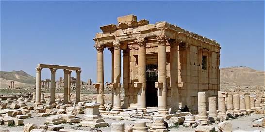 Estado Islámico dinamitó el templo de Baal en Palmira