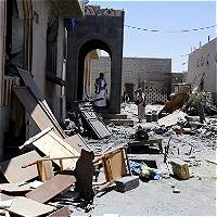 Galería de fotos: La coalición árabe bombardea Yemen