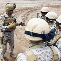 Los colombianos que pelearán otra guerra en el Golfo