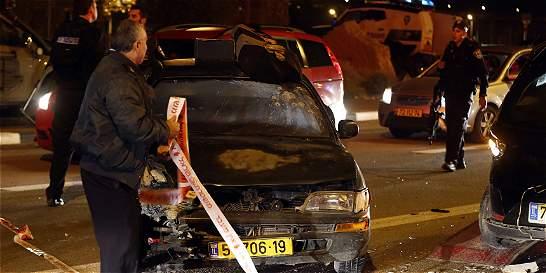 Cinco muertos deja ataques palestinos en Tel Aviv y Cisjordania