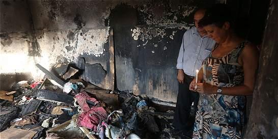 Israel detiene a sospechosos de incendiar casa de palestinos en julio