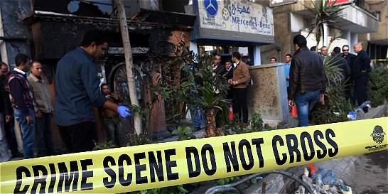 16 muertos en un ataque con cocteles molotov contra un bar en El Cairo