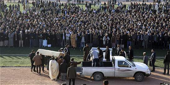 Casi 60 muertos por atentados terroristas en Libia