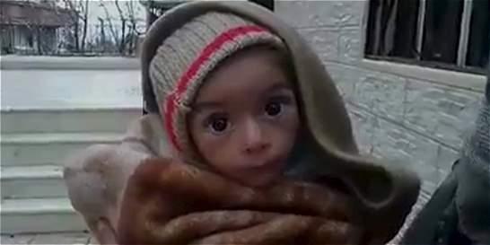 Cerca de 21.000 niños en riesgo de morir de hambre en ciudad de Siria