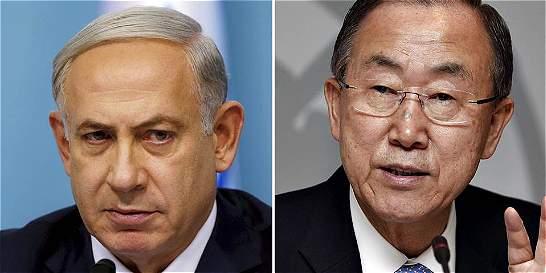 Netanyahu arremete contra las Naciones Unidas y el Secretario General
