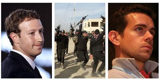 Estado Islámico amenaza de muerte a fundadores de Facebook y Twitter