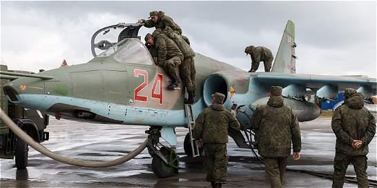 Rusia dice que hace entre 20 y 25 ataques aéreos diarios en Siria