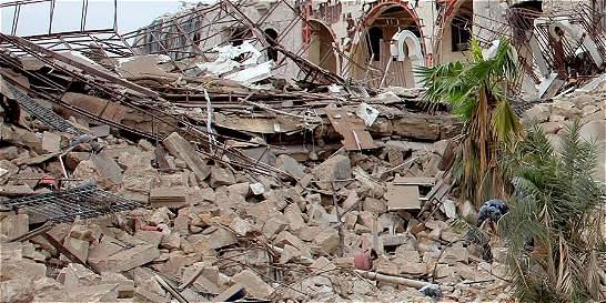 Bombardeo en Alepo, Siria, deja al menos 53 muertos