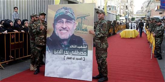 Muere comandante militar de Hezbolá en un ataque en Siria