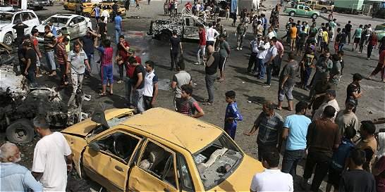 Una nueva ola de atentados siembra el pánico en Bagdad