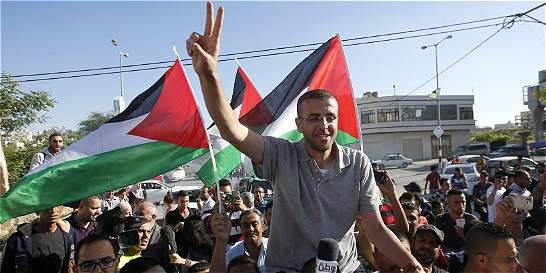Liberan a periodista palestino que estuvo 94 días en huelga de hambre