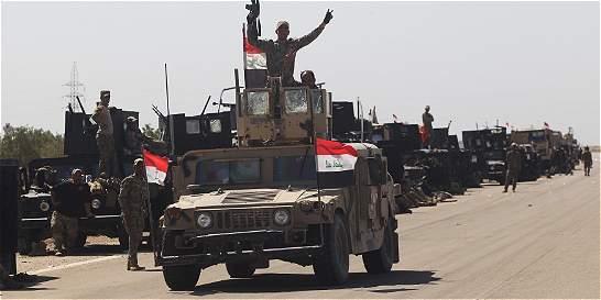 Ejército iraquí ingresa a sangre y fuego en la ciudad de Faluya