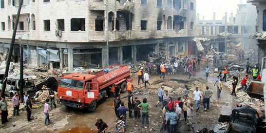 Bombardeos aéreos dejan 21 civiles sirios muertos