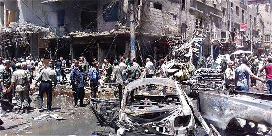 Aumentan a 41 los muertos en bombardeos en el norte de Siria