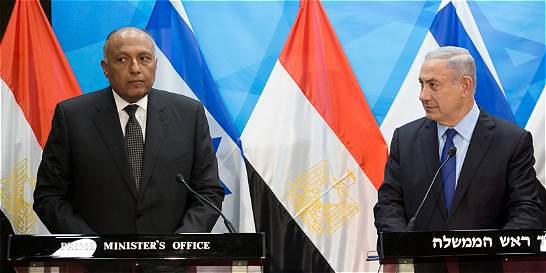 Egipto impulsa mediación entre israelíes y palestinos
