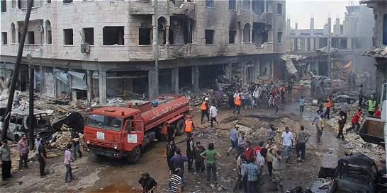 Al menos 56 civiles muertos en Siria en ataques aéreos de la coalición