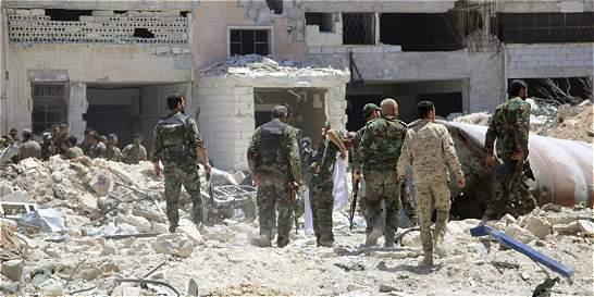 Fuerzas gubernamentales sirias frenan los avances rebeldes en Alepo