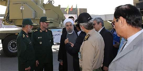 Por primera vez, Irán expone su nuevo sistema de misiles antiaéreos