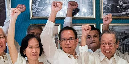 Se abre esperanza de paz en Filipinas