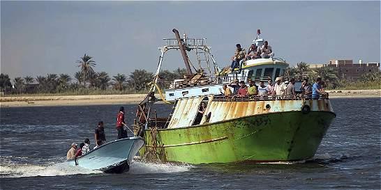 Naufragio de inmigrantes en costa egipcia deja al menos 162 muertos