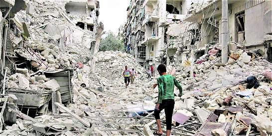 Lluvia de bombas sobre Alepo tras fracaso diplomático
