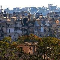 Alepo, en riesgo de desaparecer por ataques en Siria