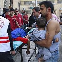 Alepo sigue bajo los intensos bombardeos del régimen sirio y Rusia