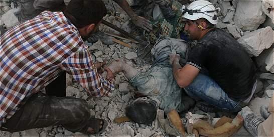 Cascos blancos, los héroes de la guerra Siria