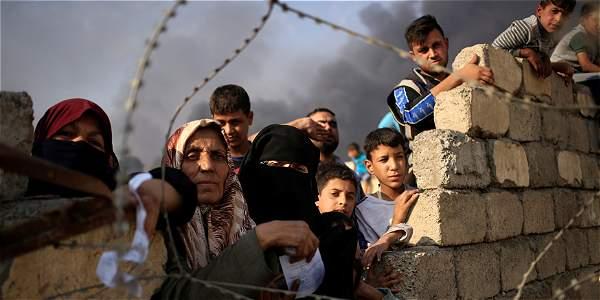 Desplazados Mosul