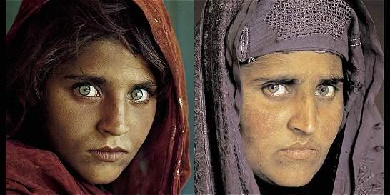 La afgana de ojos verdes de National Geographic, detenida en Pakistán