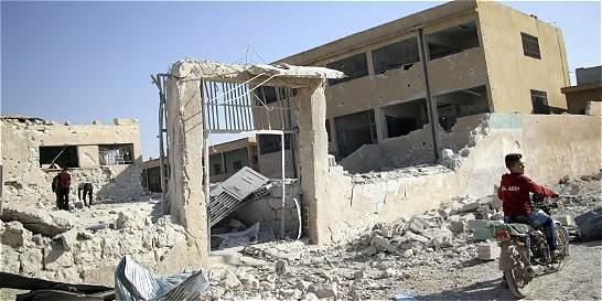 ONU pide investigar ataque a escuela siria y juzgar a responsables