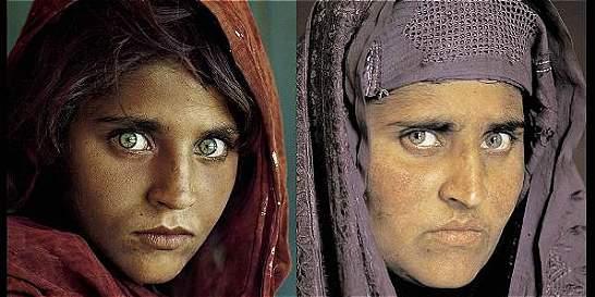 La afgana de National Geographic pide libertad bajo fianza en Pakistán