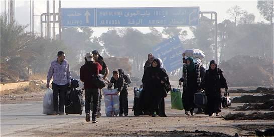 Rusia declara una 'pausa humanitaria' de 10 horas el viernes en Alepo