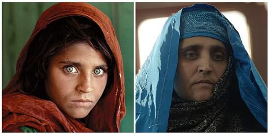 La mujer afgana de NatGeo es ahora un símbolo para los refugiados