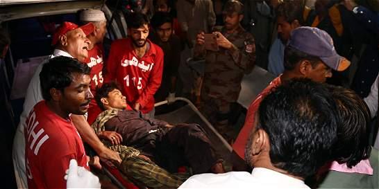 Atentado del Estado Islámico deja 43 muertos en Pakistán