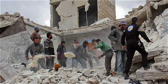 Régimen sirio y Rusia bombardean de nuevo Alepo y provincia de Idleb
