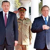 Presidente de Turquía acusa a Occidente de apoyar al Estado Islámico