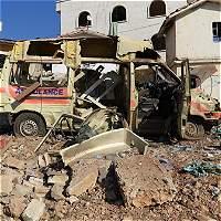 En Alepo la misión médica está en la mira