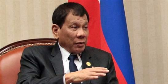 Duterte quiere que se permita que niños de 9 años paguen cárcel