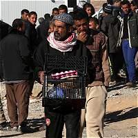 Habitantes de Mosul están desesperados por la escasez de comida