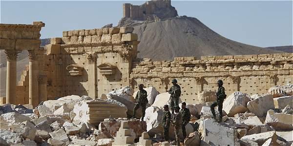El Ejército sirio defiende Palmira, atacada por 4.000 yihadistas, según Rusia