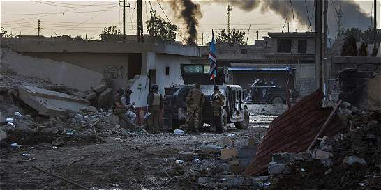 Fuerzas iraquíes reconquistan dos localidades de Mosul