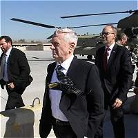 'No estoy acá para apropiarme del petróleo': Mattis en visita a Irak