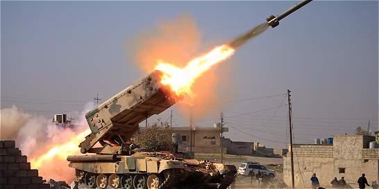 Fuerzas iraquíes toman control del aeropuerto de Mosul