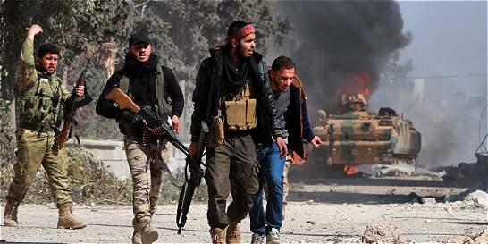 Rebeldes sirios, apoyados por Turquía, anuncian la captura del Al Bab