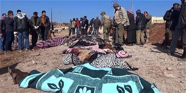 Aumentan a 77 los muertos por atentado del Estado Islámico en Siria