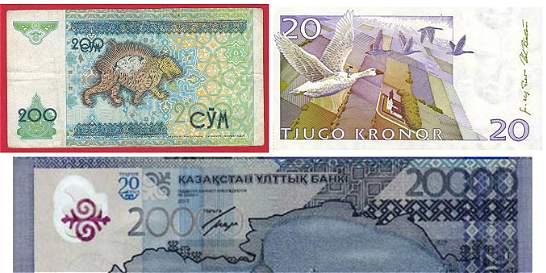 En fotos: los billetes más bonitos del mundo