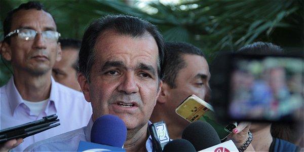 Oscar Iván Zuluaga, candidato presidencial.