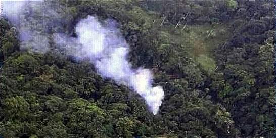 Desestiman de nuevo que helicóptero haya sido derribado en el Urabá